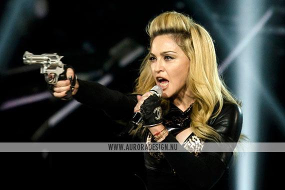 Madonna live in LA