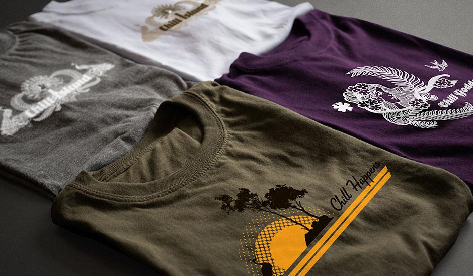 Chill Island t-shirts