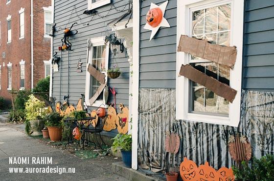 Salem during Halloween