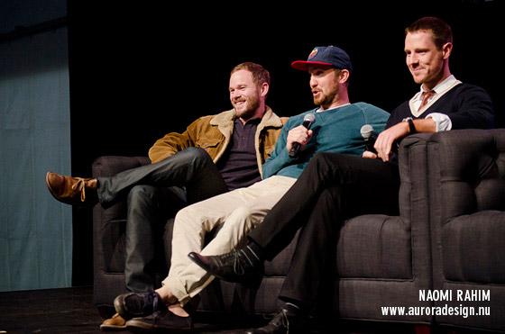 Aaron Ashmore, Sam Huntington & Jason Dohring