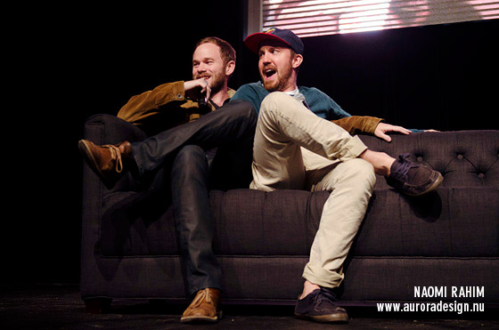 Aaron Ashmore & Sam Huntington