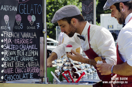 Artisan Gelato served by Frenchmen