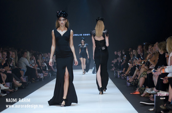 Costarella's LBDs on the Instyle Runway