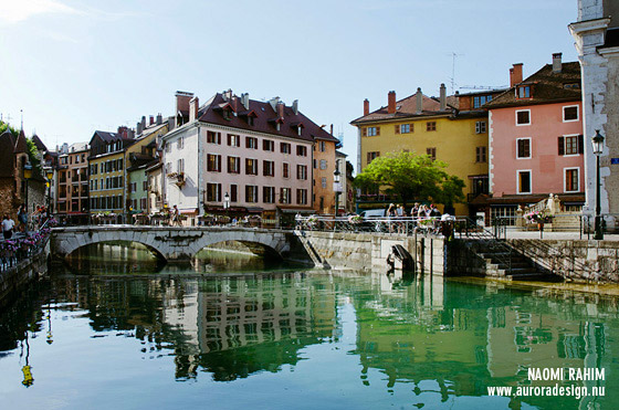 Thiou River, Annecy