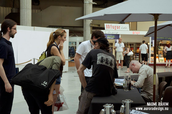 Artist signing at AIAFF