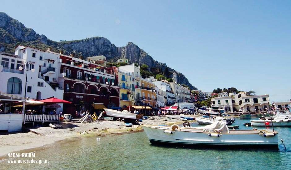 Port of Marina Grande, Capri