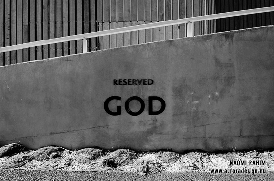Reserved for God