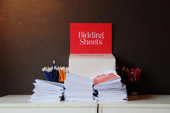 Bidding Sheets