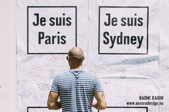 Je suis Paris, Je suis Sydney