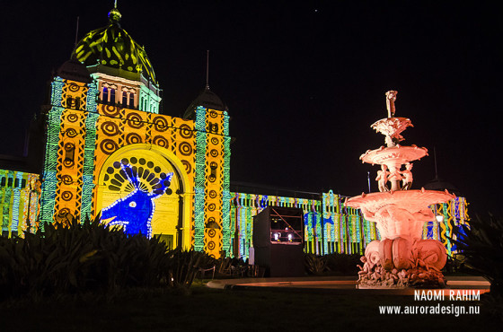 White Night - Royal Exhibition Building