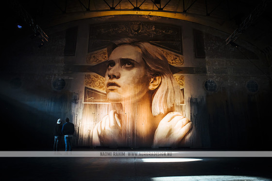 Beautiful mural in the Star Lyric Theatre