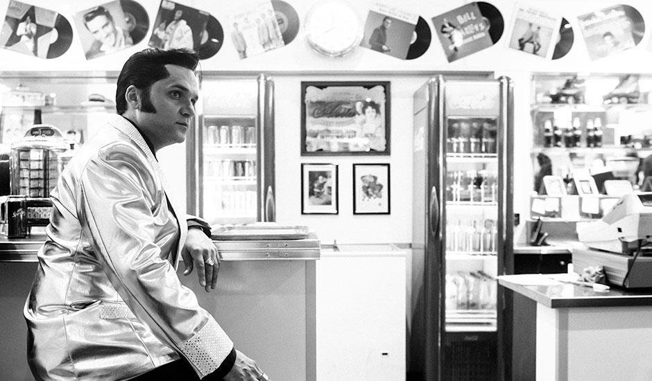 Stuey V as Elvis Presley