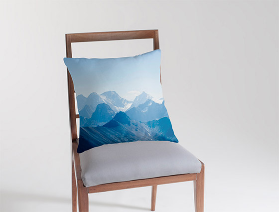 Rocky Mountain Throw Cushion