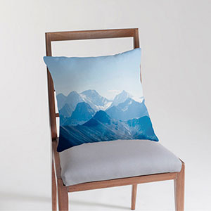Rocky Mountains - Throw Cushion