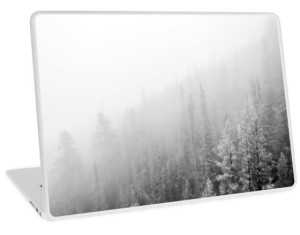 White Forest Wanderlust Laptop Skin