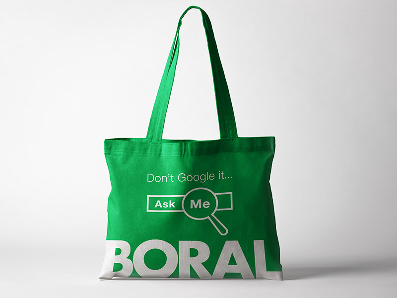 Boral / Google goodie bag