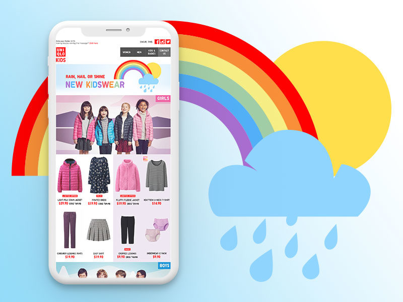 UNIQLO Kidswear EDM