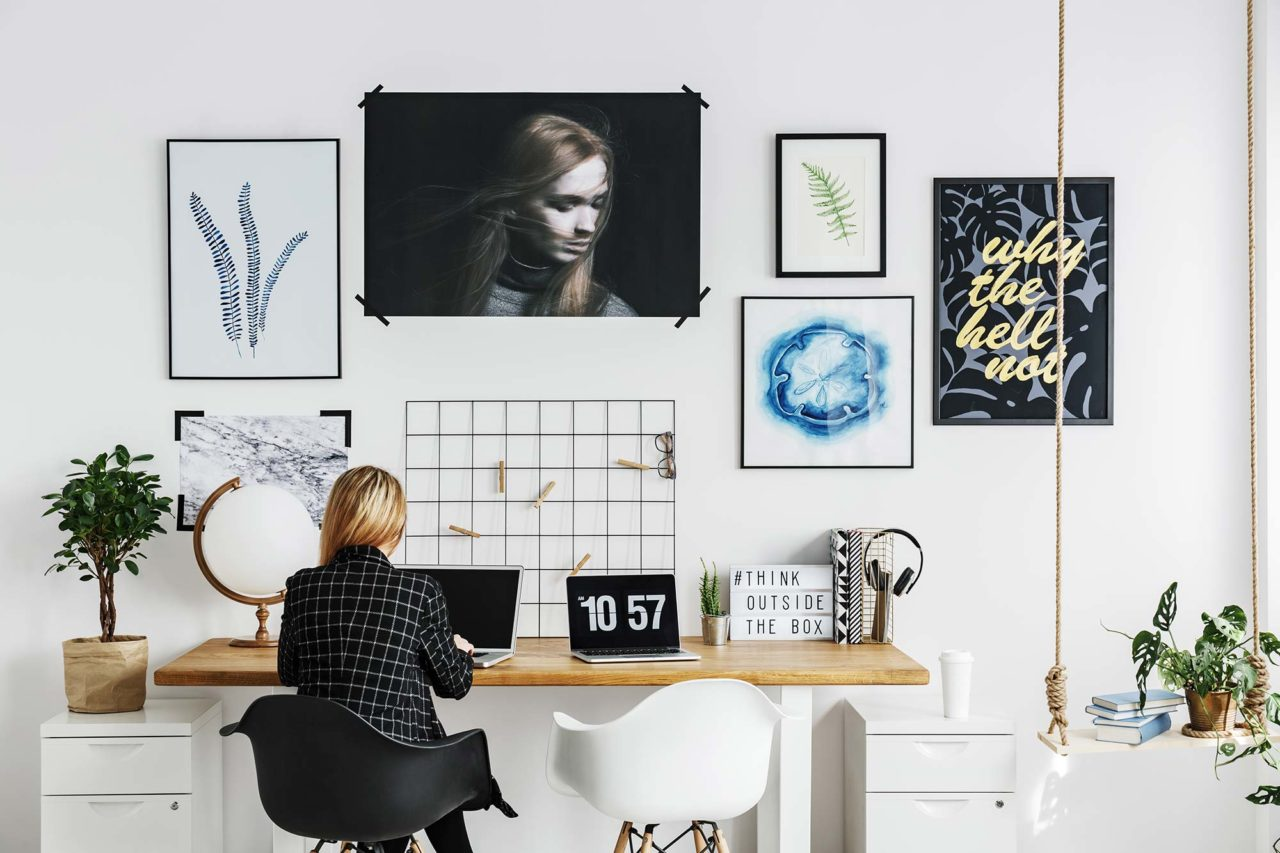 Inspiring home office